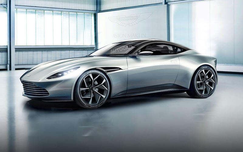 DECEMBER: Aston Martin V8 Vantage