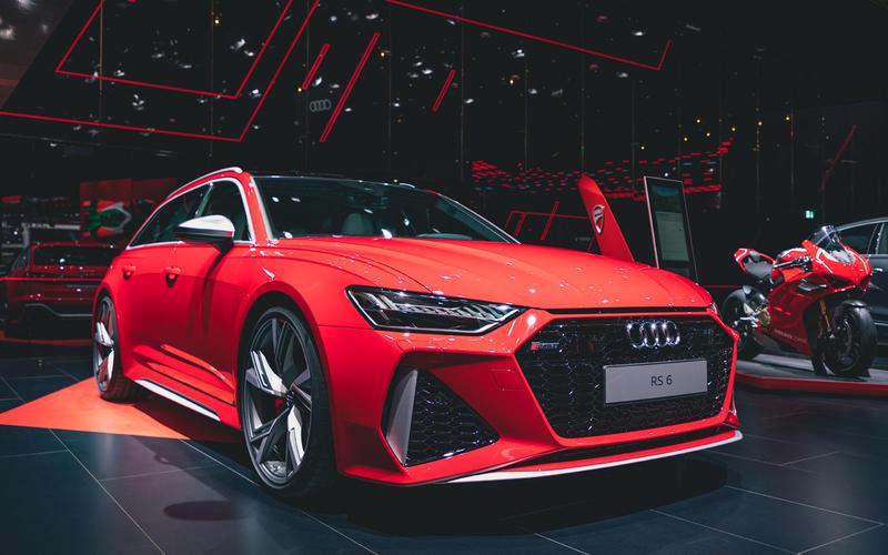 2019 Audi RS6 Avant at Frankfurt motor show 2019