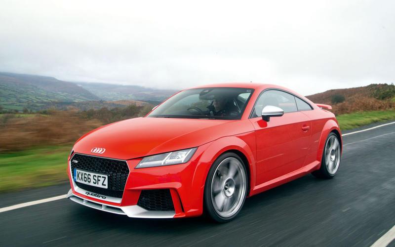 OCTOBER: Audi TT RS