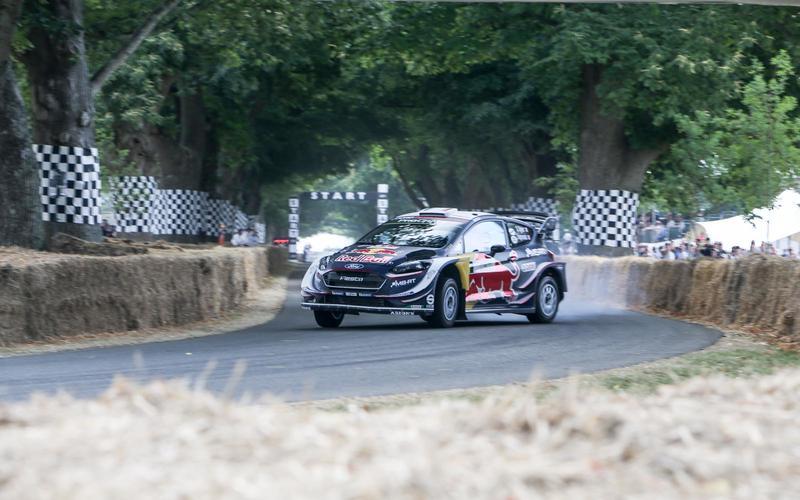 Sebastien Ogier Ford Fiesta WRC