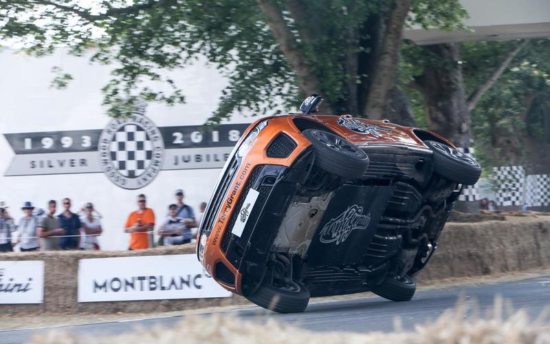 Terry Grant stunt