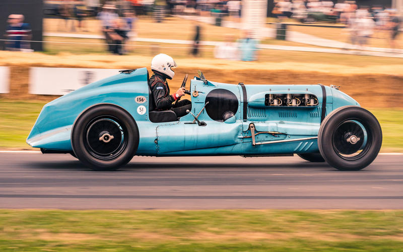 1933 Bentley 'Barnato Hassan Special' at Goodwood Festival of Speed 2019