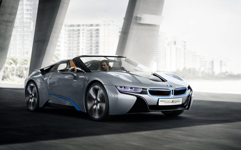 2018: BMW i8 Spyder