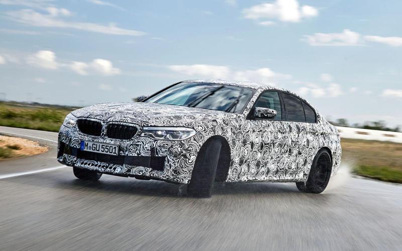 2018: BMW M5