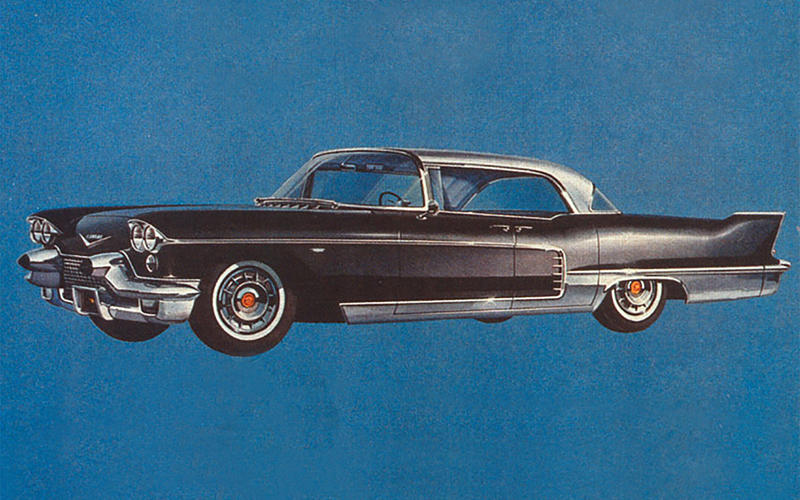 AIR SUSPENSION: Cadillac Brougham (1958)