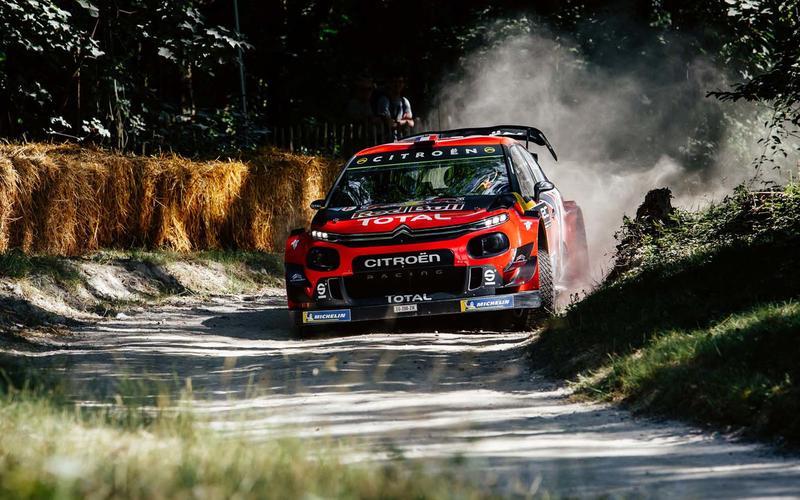 2018 Citroen C3 WRC racer - front