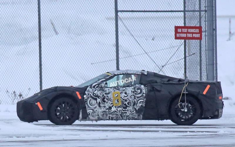 2019: Chevrolet Corvette C8