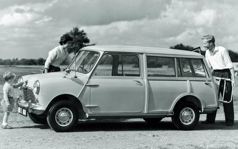Mini Countryman estate - archive image