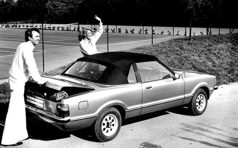 Ford Cortina Crayford Convertible