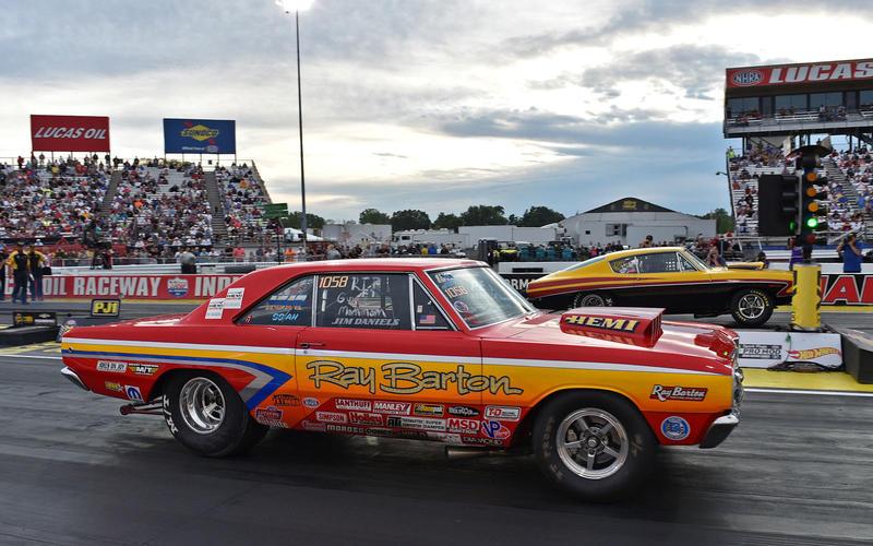 Dodge Dart drag racer