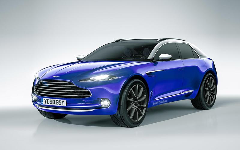 2019: Aston Martin DBX
