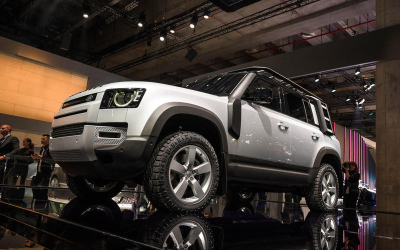 Land Rover Defender at the Frankfurt motor show 2019