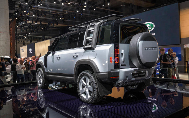 The much-loved Land Rover Defender is officially back, following its unveiling at the Frankfurt Motor Show on Tuesday.