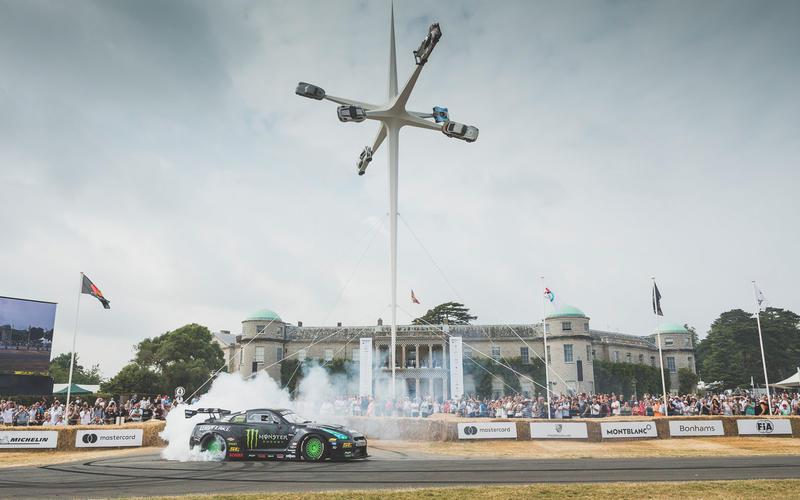 Drift-spec Nissan GT-R