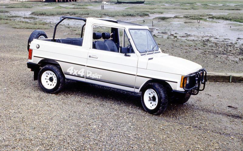 1985 Dacia Duster - side