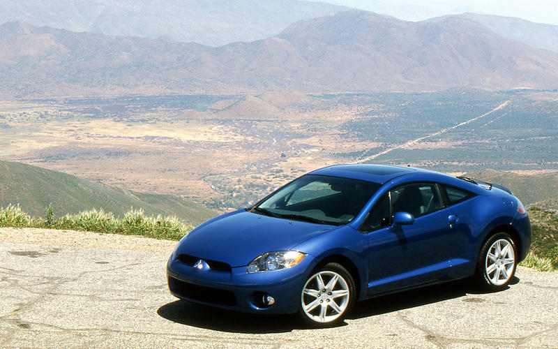 Mitsubishi Eclipse coupe - front