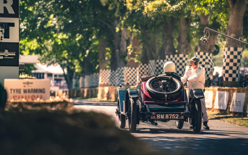 Bentley EXP 2 at Goodwood Festival of Speed 2019