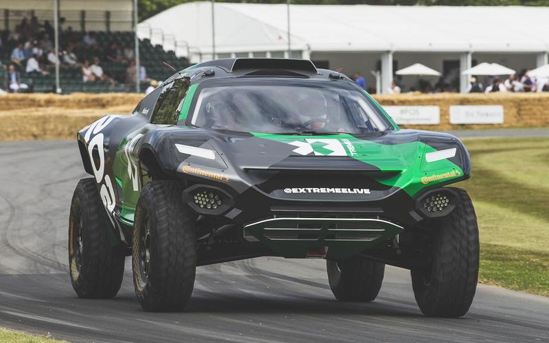 Formula E heads for the rough stuff