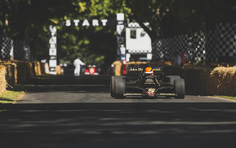 F1 machines have long starred at Goodwood