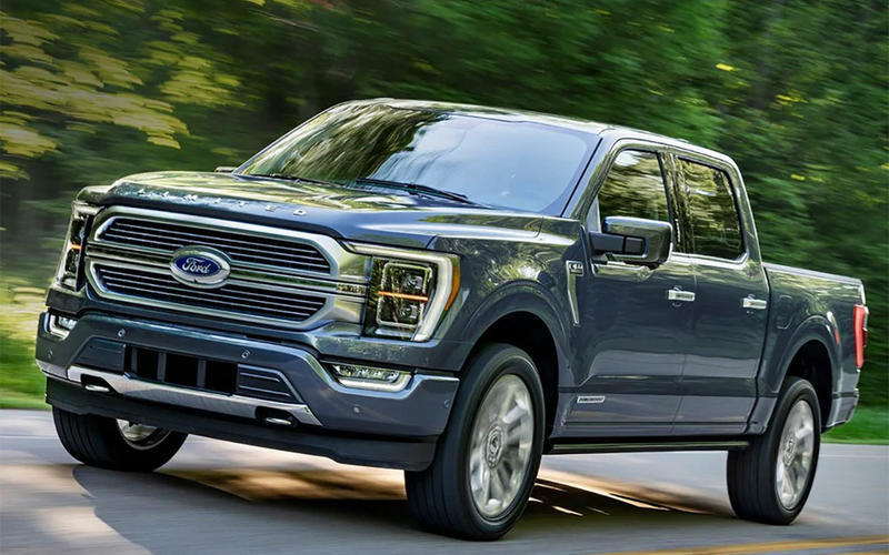 10. Ford F-Series (2020)