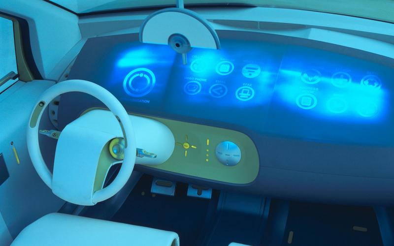 The future of car design has always looked a little bit outlandish.