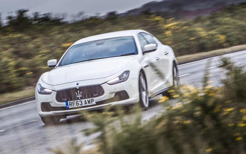 2013 Maserati Ghibli - hero front