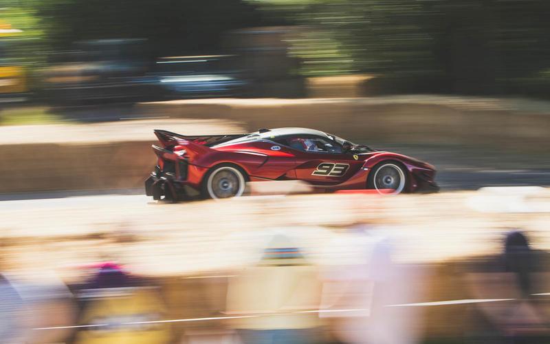 Ferrari FXX K Evo, 2017