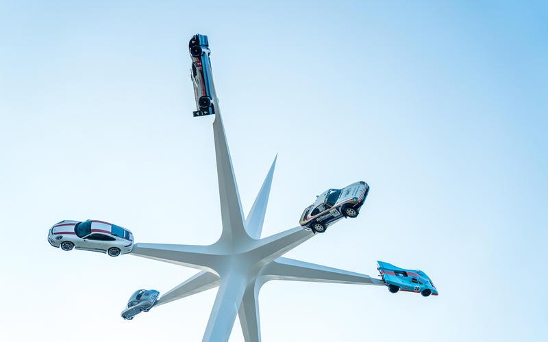 2018 Festival of Speed sculpture