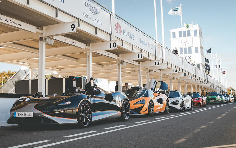 This year's Goodwood was a little different.