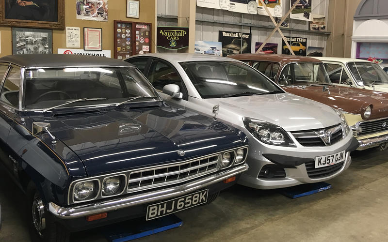 In Pictures The Cars Of The Vauxhall Heritage Collection