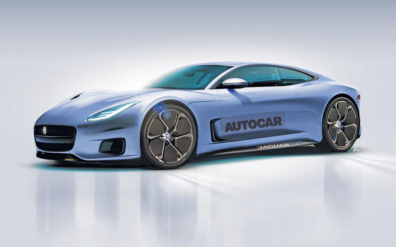 Jaguar XK render