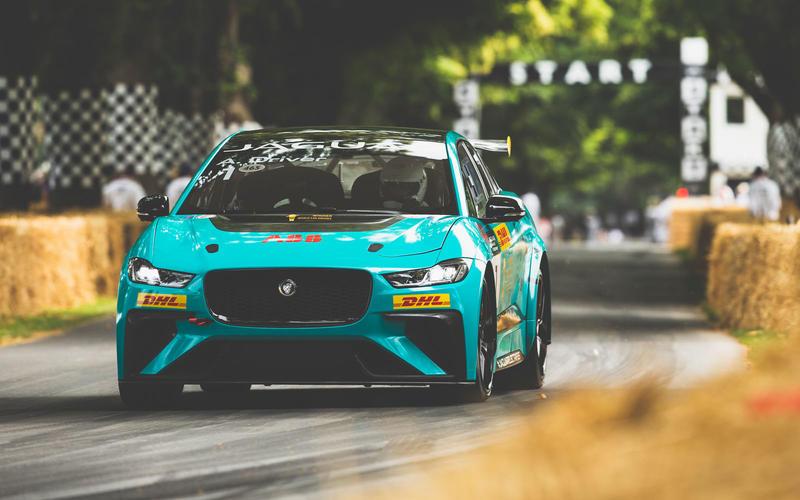 Jaguar goes racing - in an EV