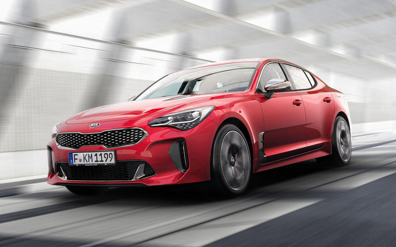 OCTOBER: Kia Stinger