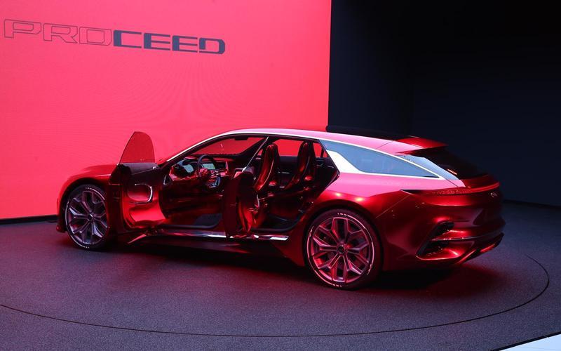 Kia Procee'd shooting brake concept