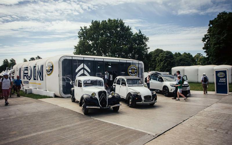 Citroen stand at Goodwood Festival of Speed 2019