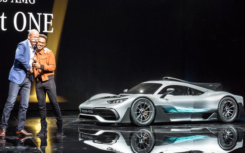 467432d2b73 Lewis Hamilton reveals the Mercedes-AMG Project ONE hypercar