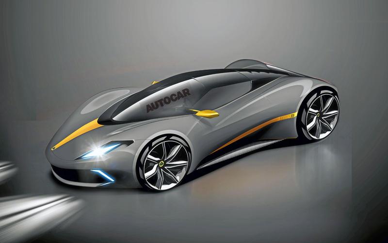 Lotus Esprit render