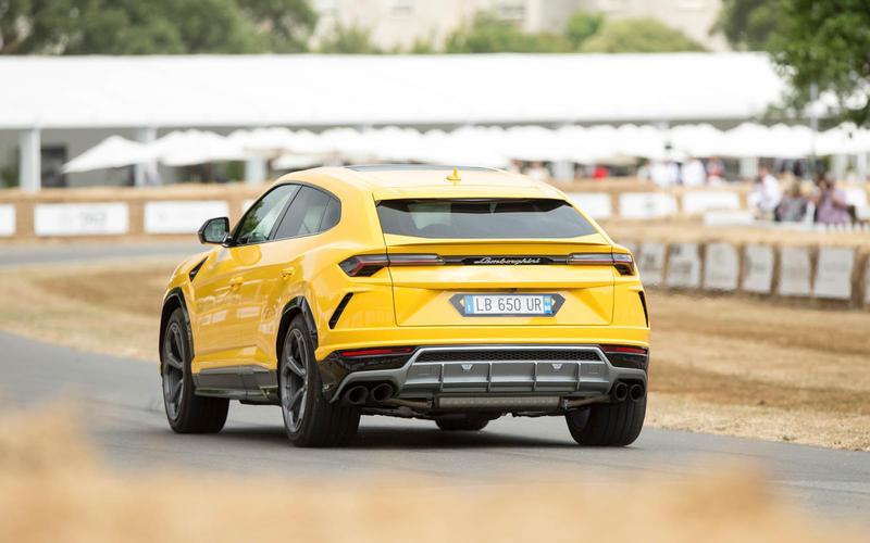 Lamborghini's Urus SUV