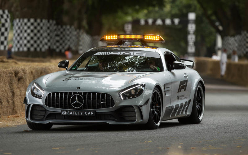 Mercedes AMG GT Formula 1 safety car