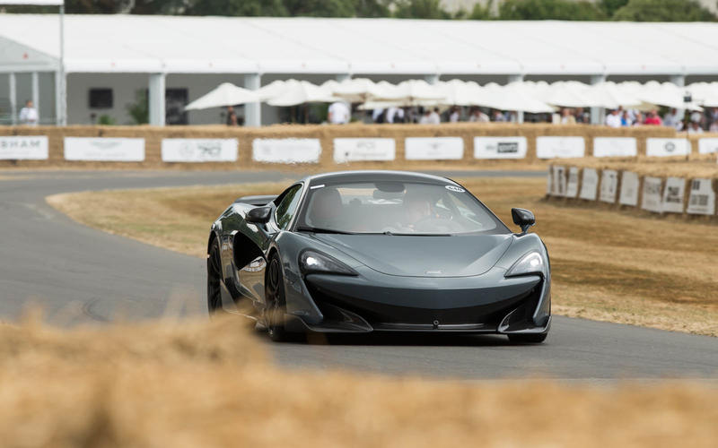 The McLaren 600LT made its dynamic debut