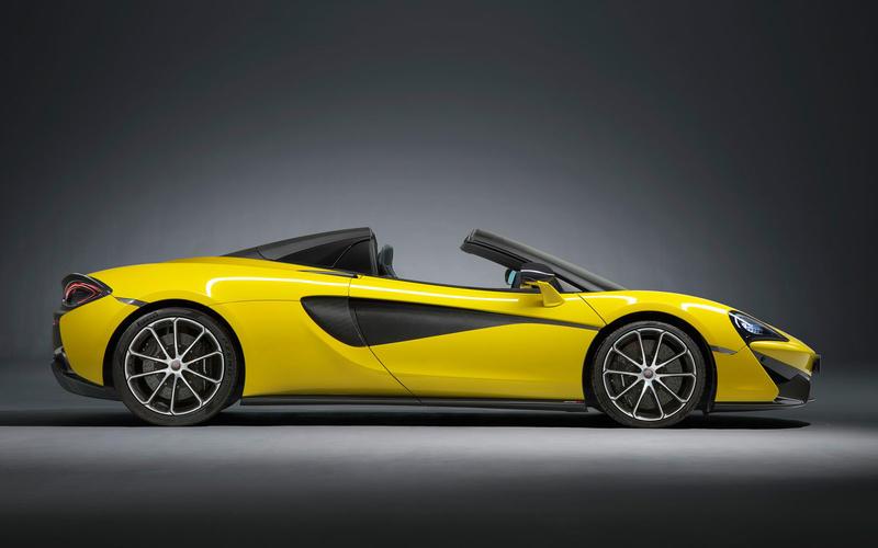 AUGUST:  McLaren 570S Spider