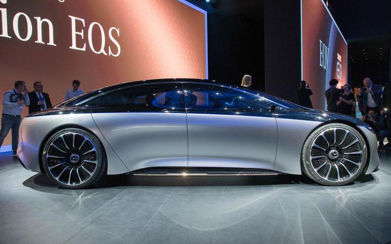 Mercedes-Benz Vision EQS concept at Frankfurt motor show 2019