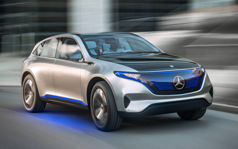 2019: Mercedes-EQ SUV
