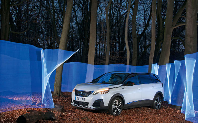 Peugeot 5008 best large SUV 2018
