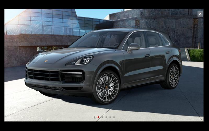 Porsche Cayenne (good)
