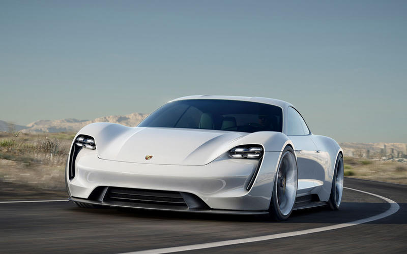 2020: Porsche Mission E