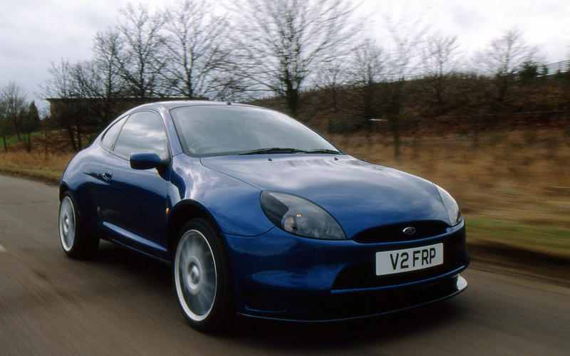 Ford Puma coupe - hero front