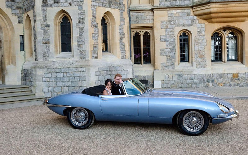 Jaguar's all-electric E-type Zero