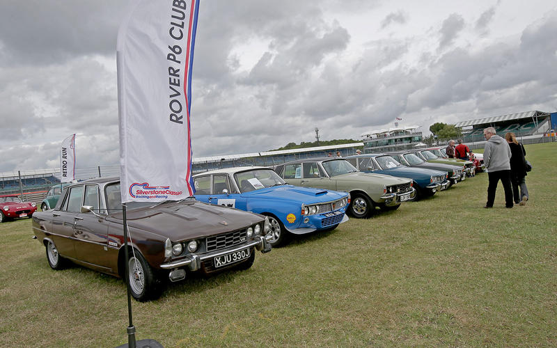 The Rover P6