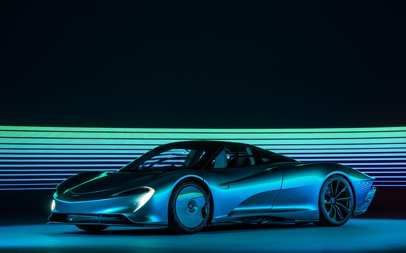 McLaren Speedtail (2019 Expected) - 250mph+ (Estimated)